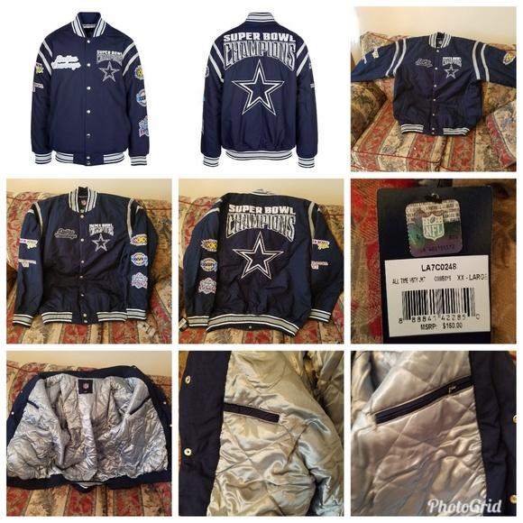 Dallas Cowboys 5 Time Super Bowl Champions All Tim 8aca8967e